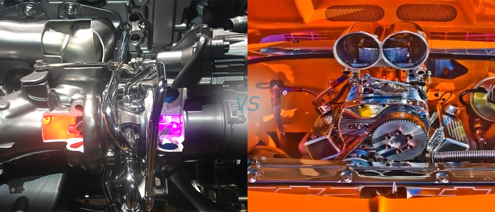 Turbocharger versus Supercharger