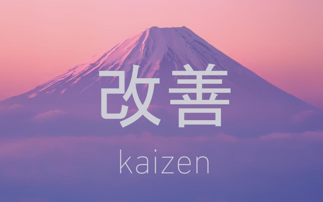 A never-ending journey of kaizen